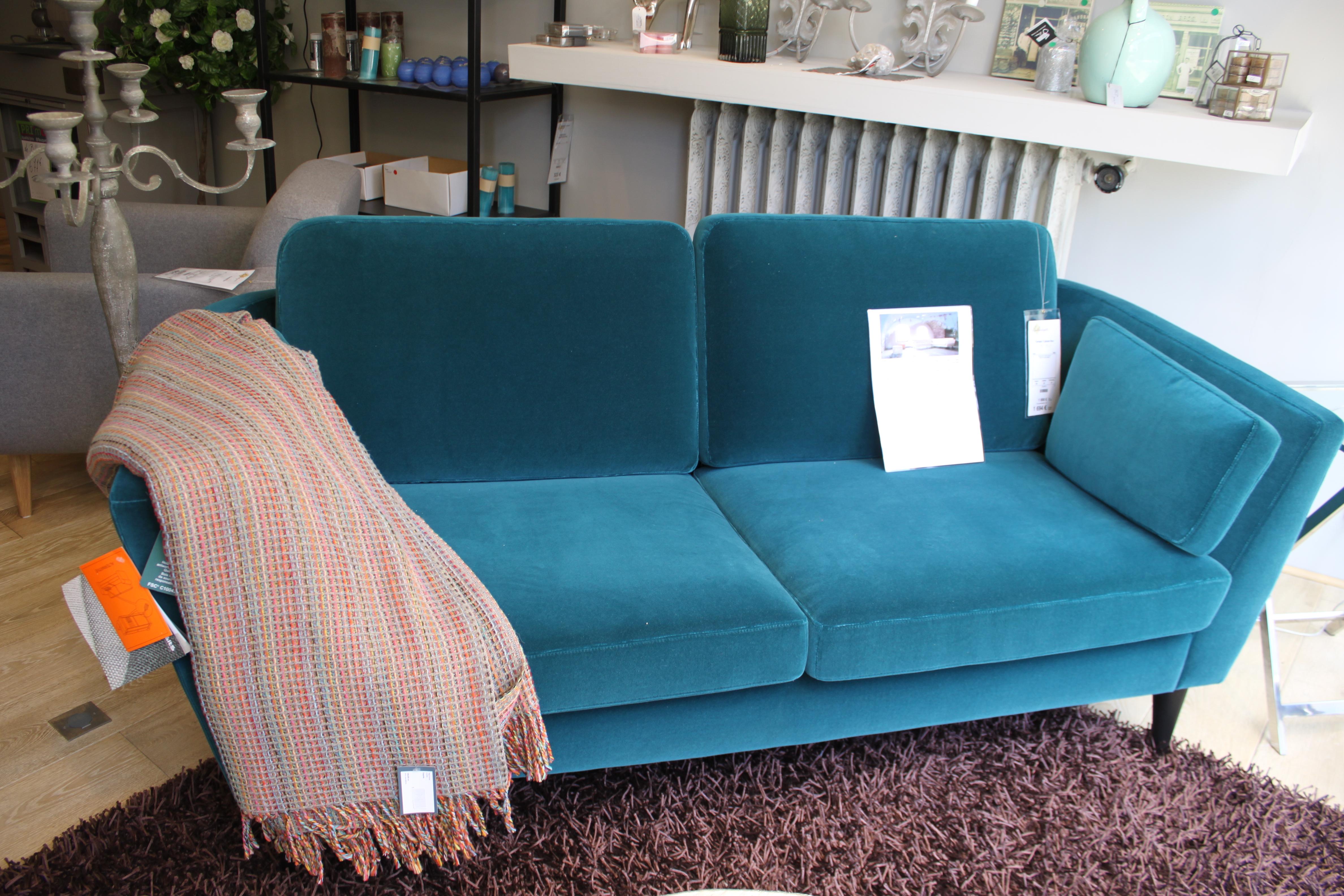 best canape bleu canard images design trends 2017. Black Bedroom Furniture Sets. Home Design Ideas